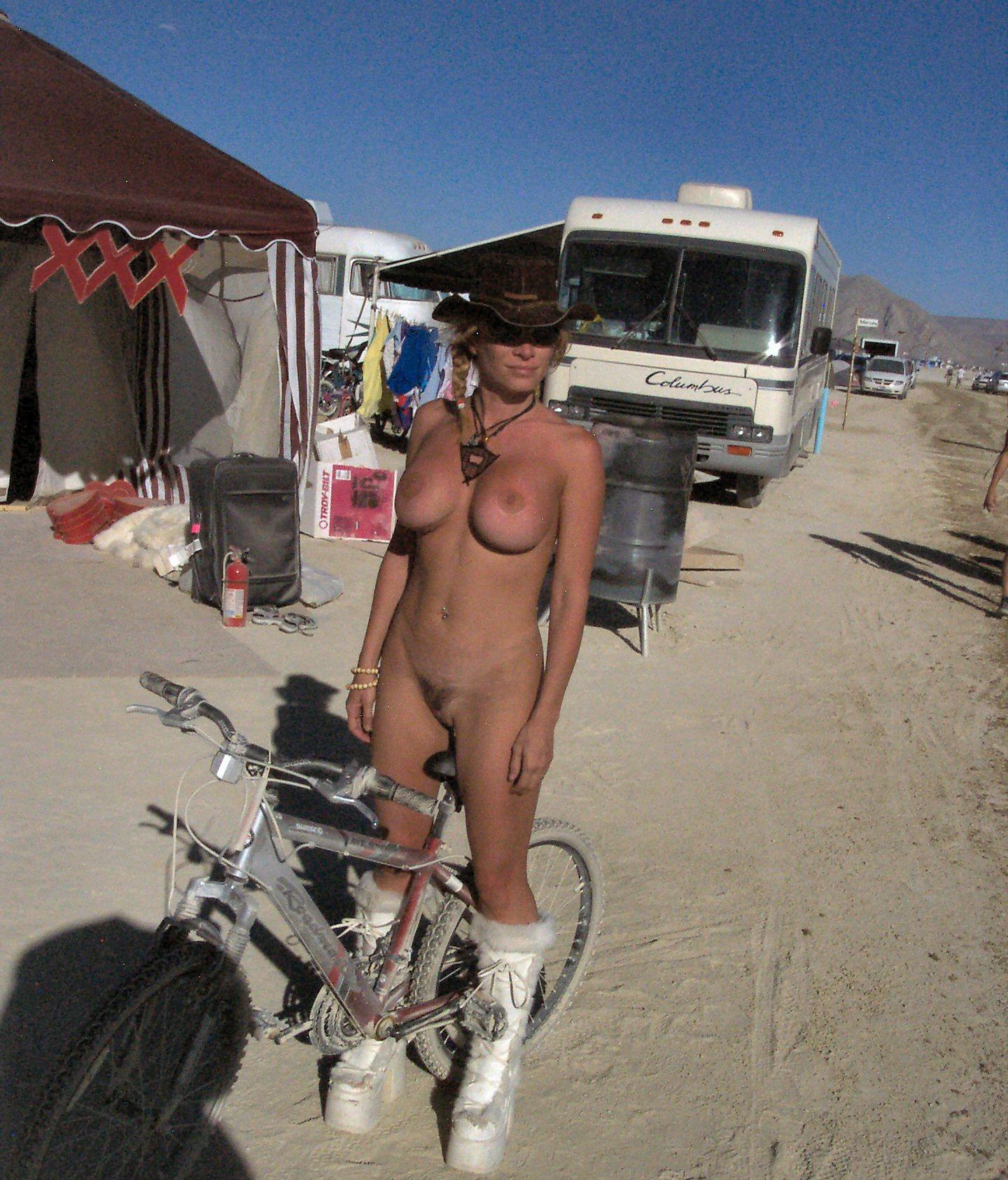 Burning Man Active Naturists